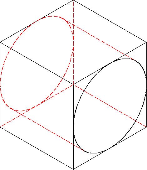 LibreCAD tangent2