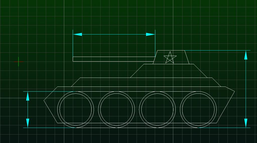 CAduntu 2D Mechanical drawing